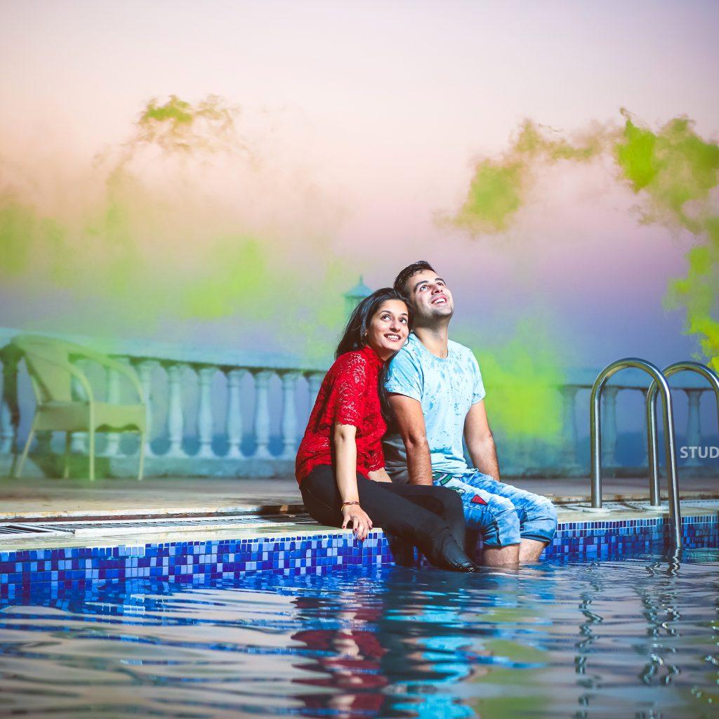 Happy couple - Akhil & Mahak