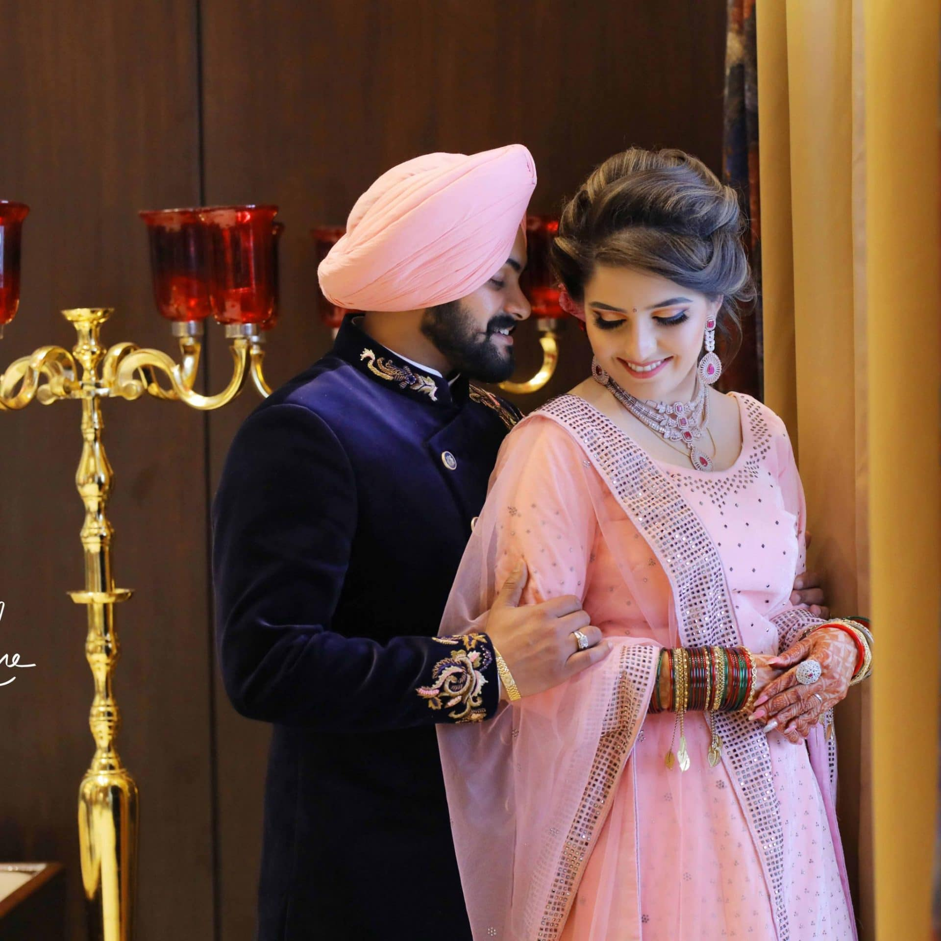 Punjabi Couple Wedding Photography