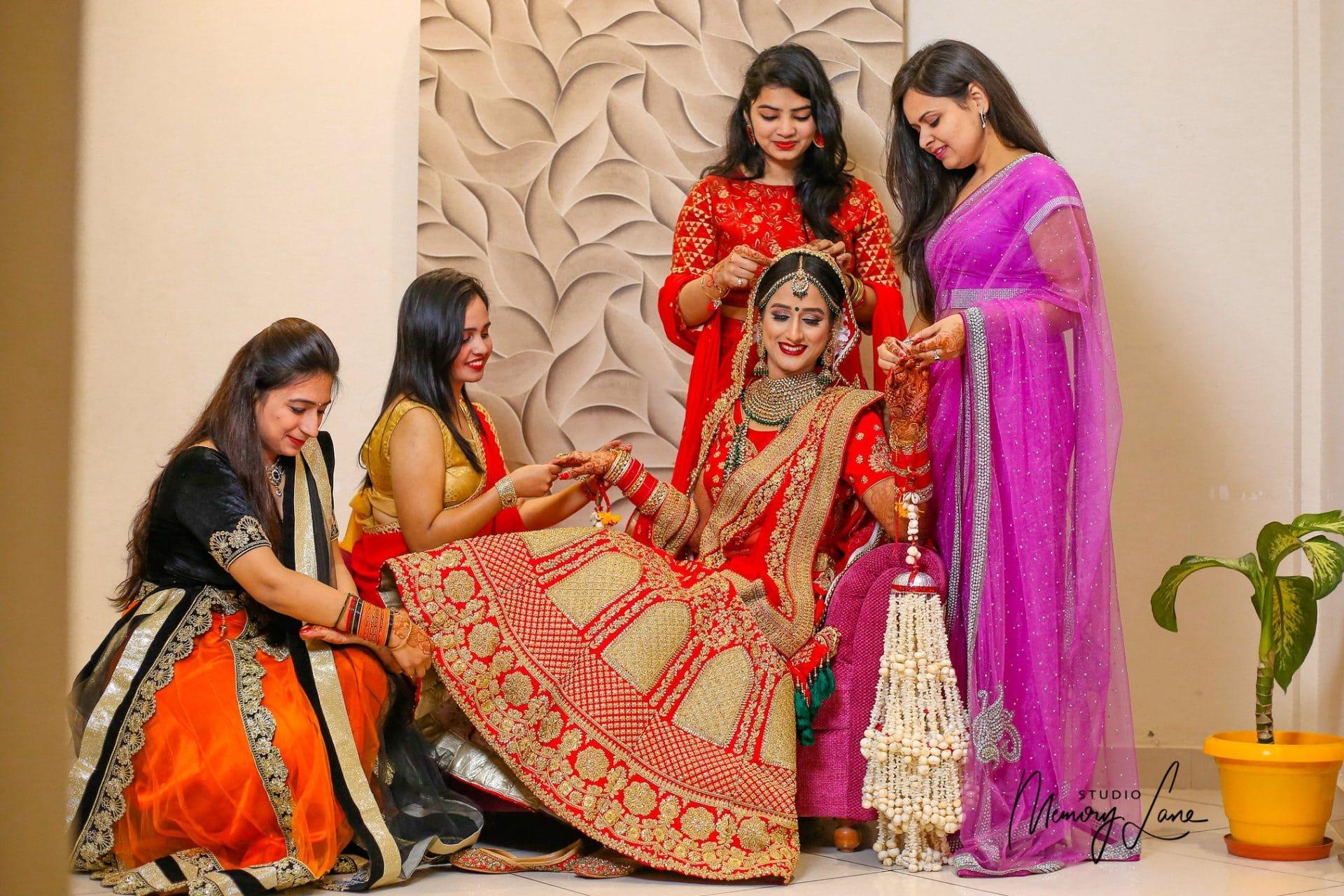 Bride's maid | Professional wedding photography Punjab
