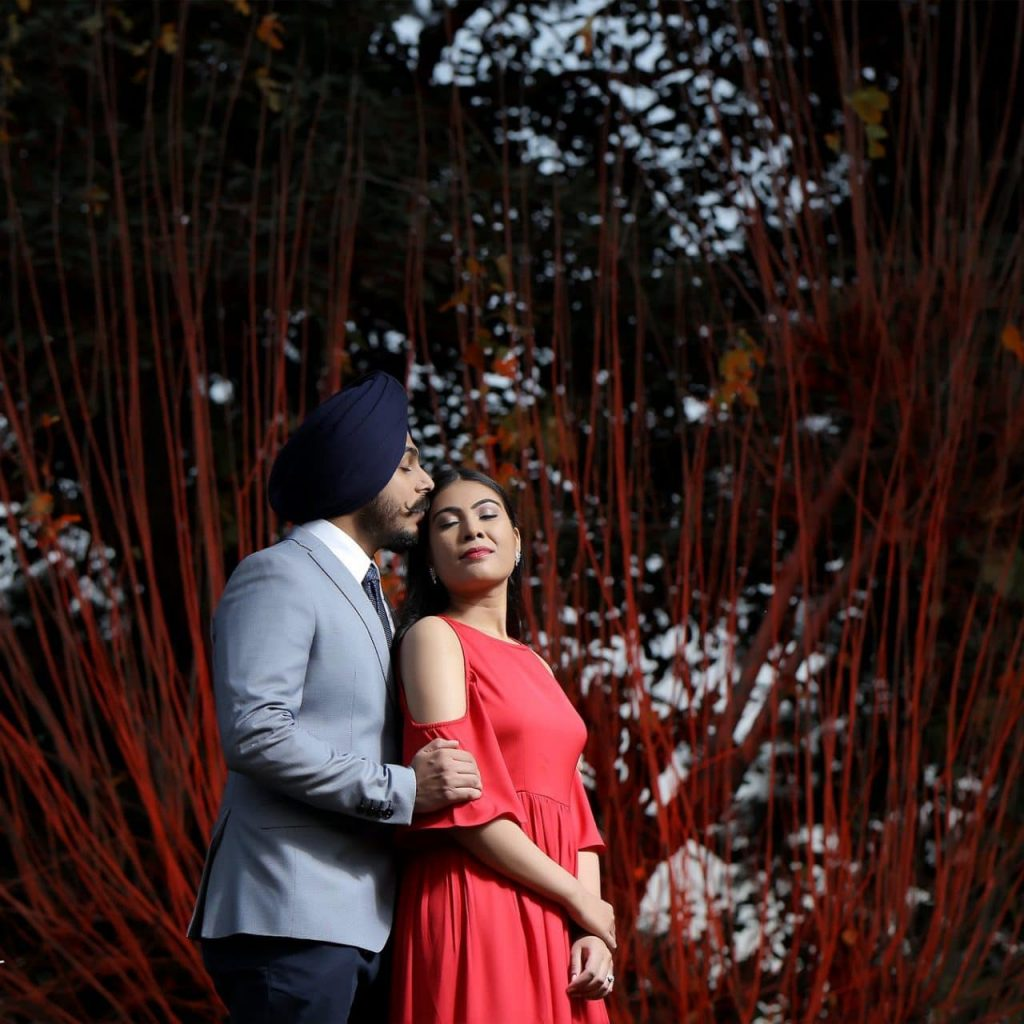 best pre wedding photographers in Punjab