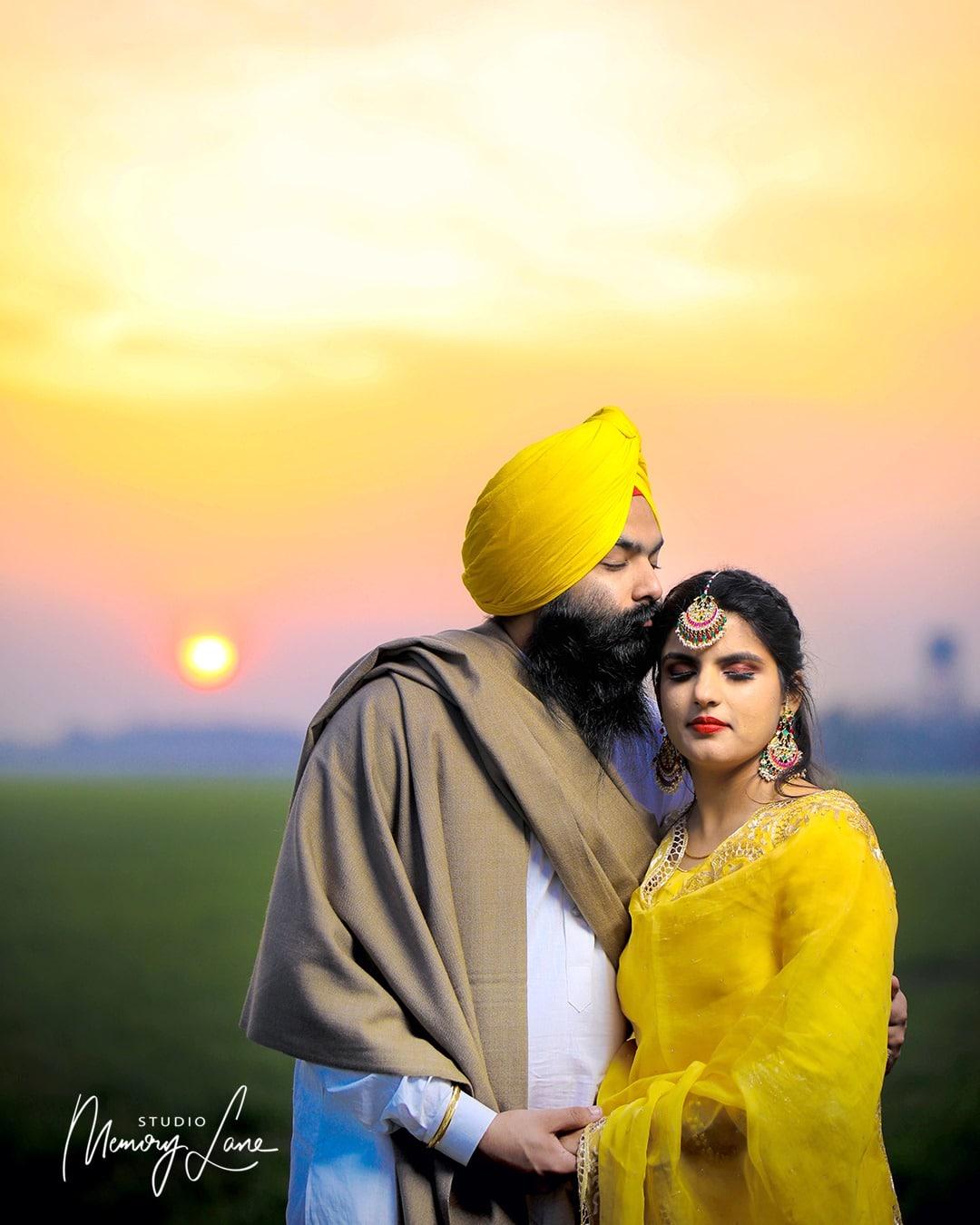 Punjabi Pre-wedding Photography