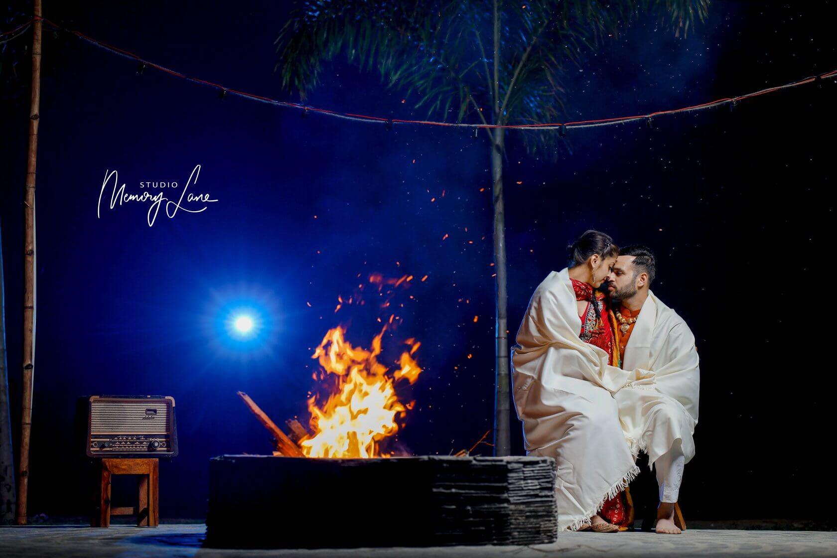 pre-Wedding Photographers Jalandhar - Sparkling Affection
