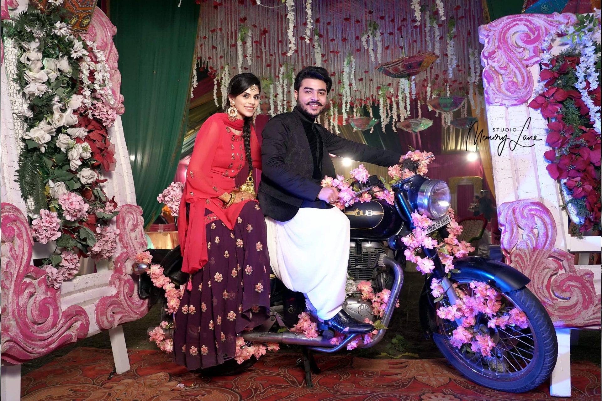 Candid Wedding Photographers Mohali | Ride of Love!