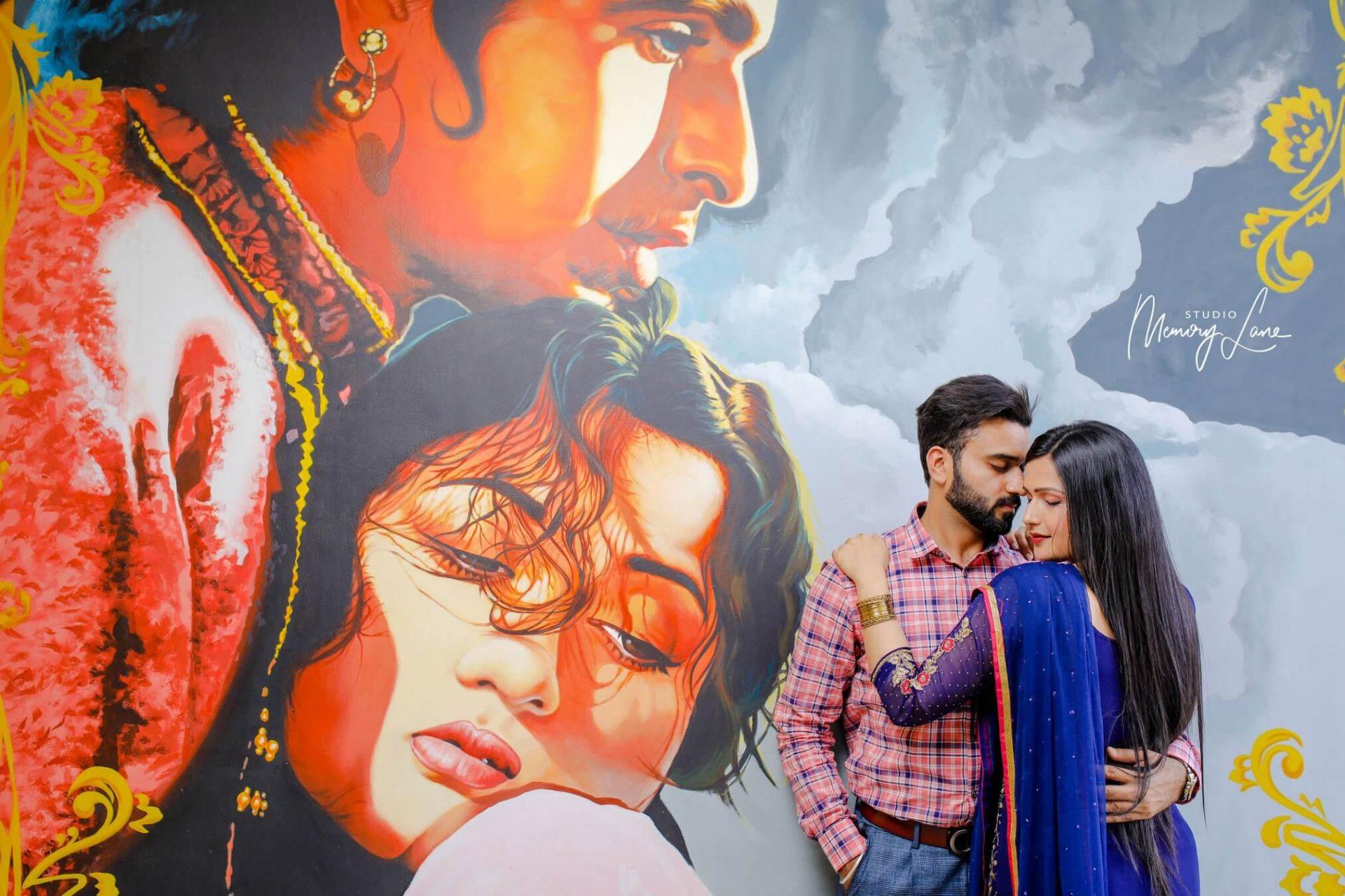 Top Pre-wedding Photographers Phagwara | Romantic Couple