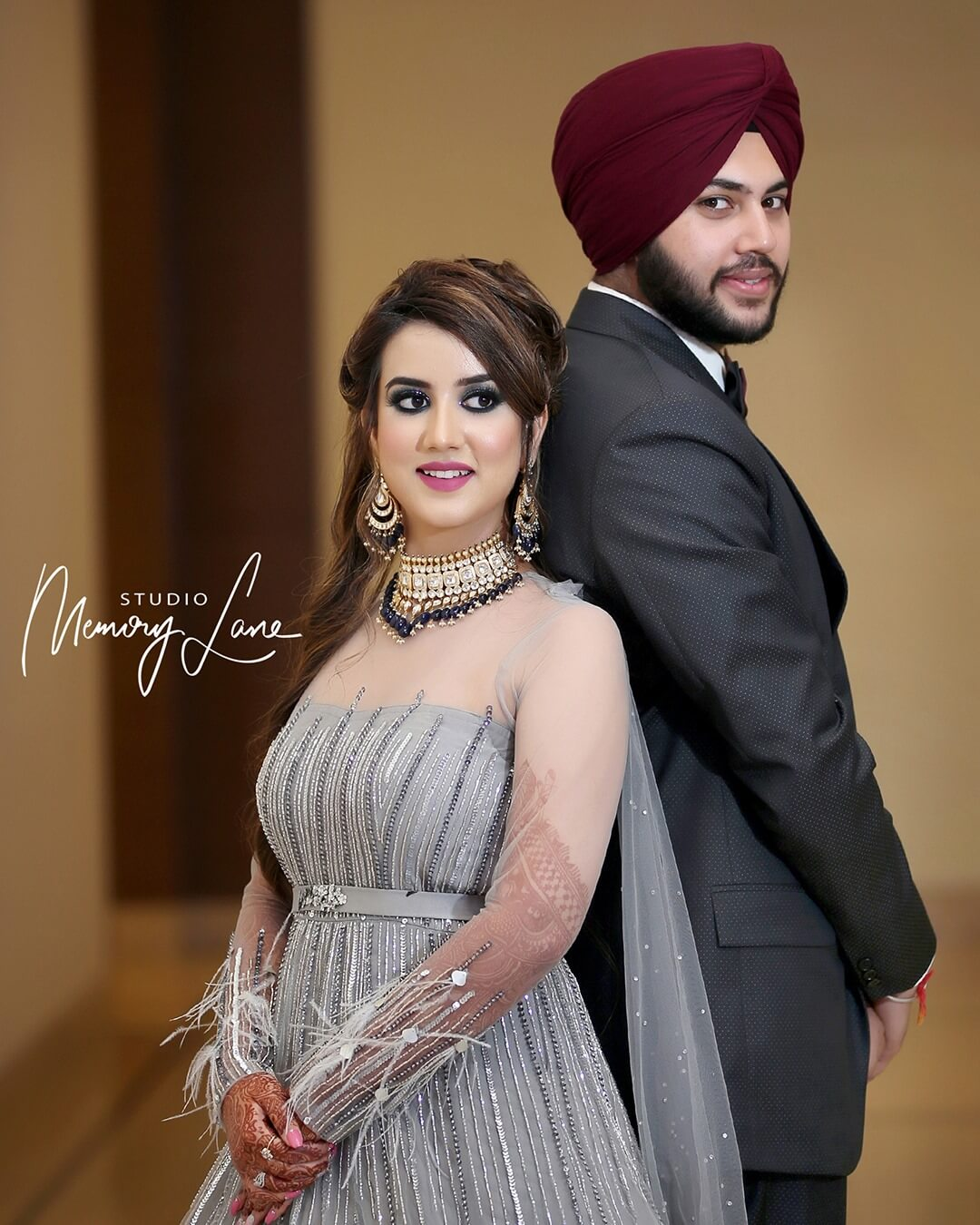 Top wedding photographers in Jalandhar | Engaged Couple!