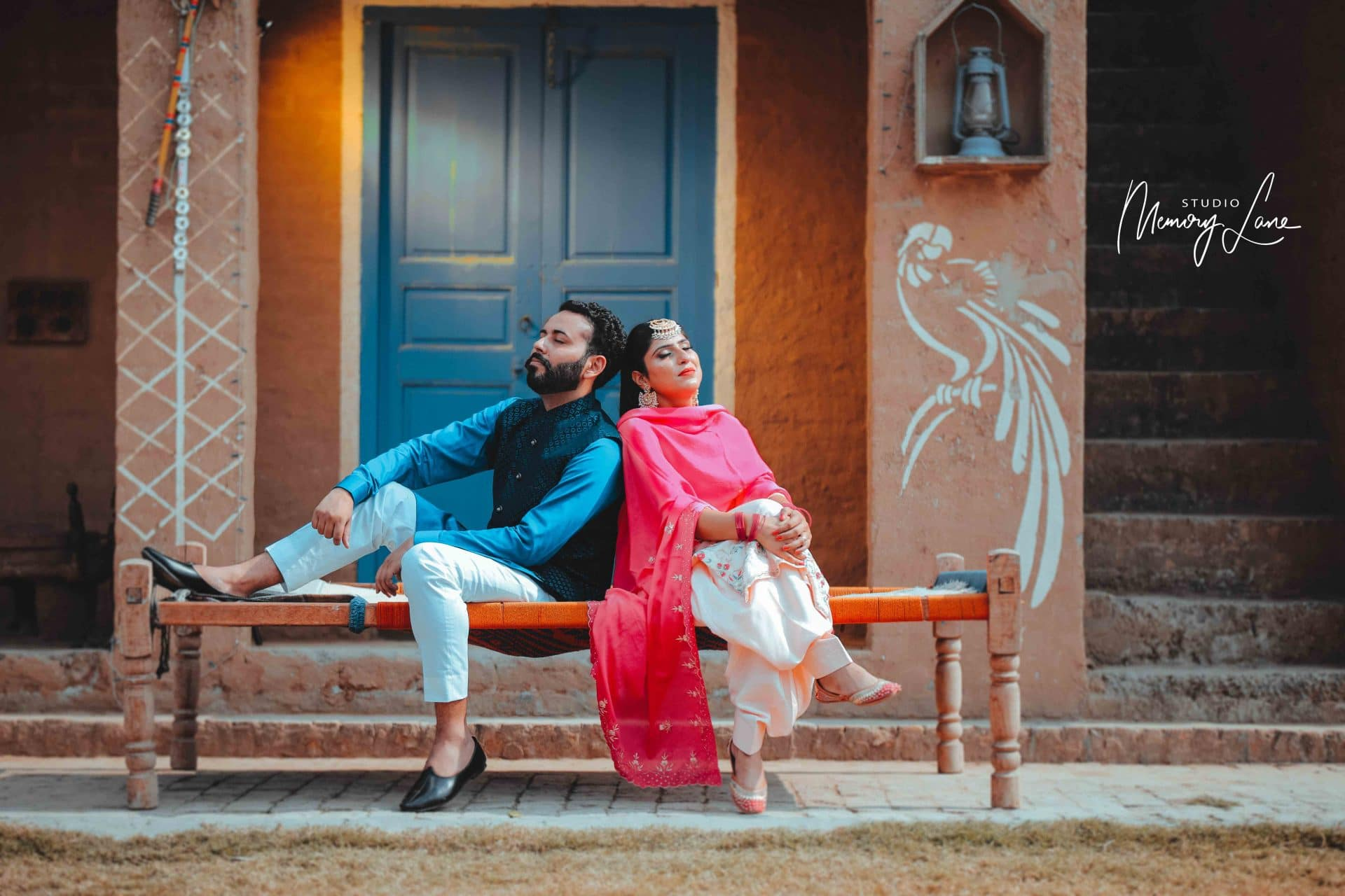 Pre-wedding photographer Chandigarh | For the heritage!
