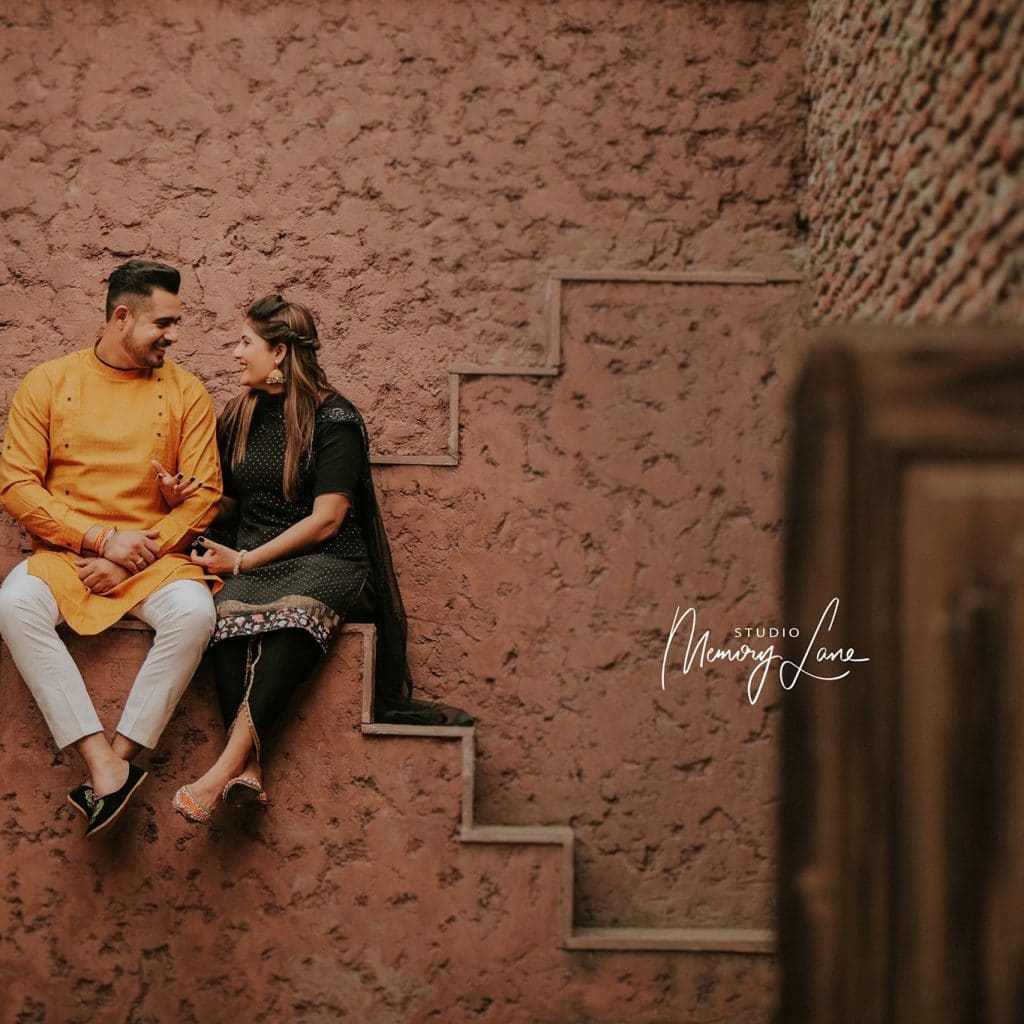 Candid pre-wedding photographer Mohali