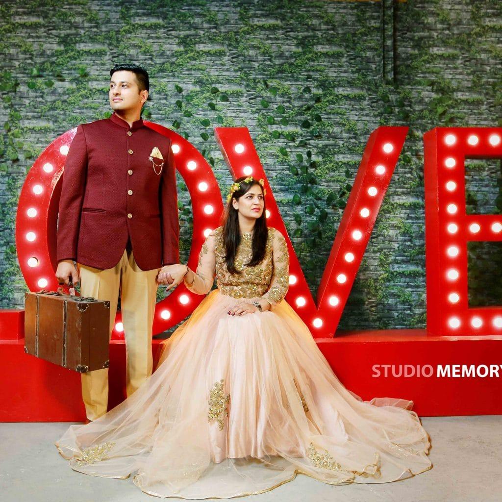 Chandigarh Pre-wedding Photographers