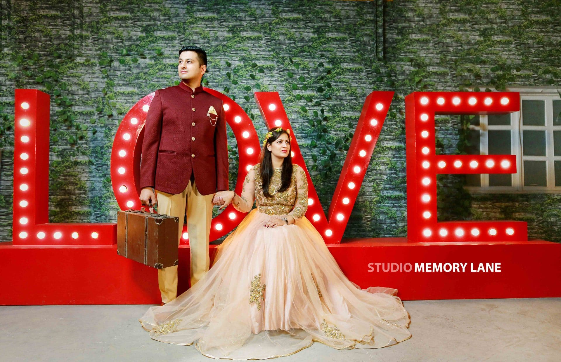 Chandigarh Pre-wedding Photographers | Loving the Moment!