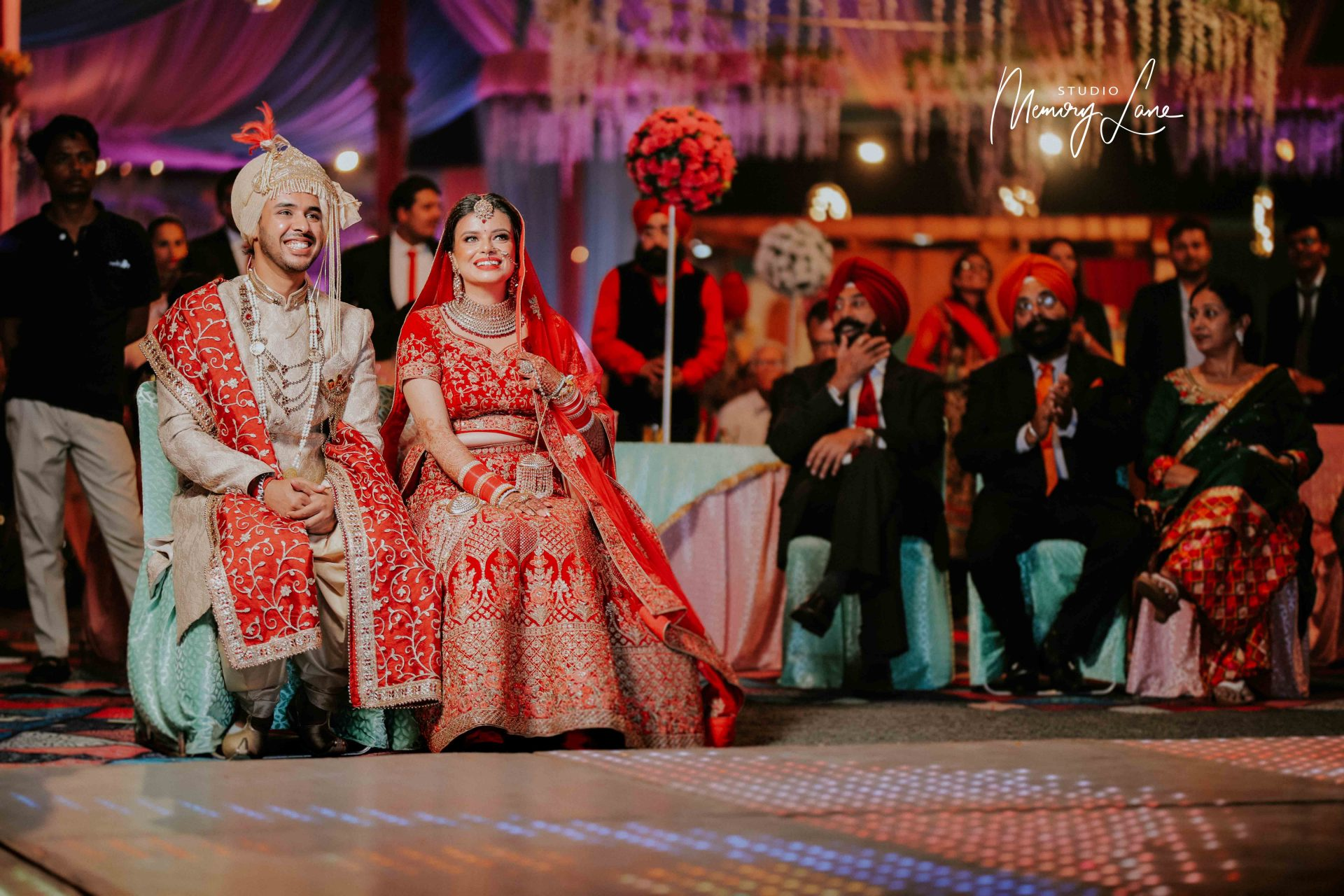 Indian wedding photographers in Nawanshahr | The best smiling couple!