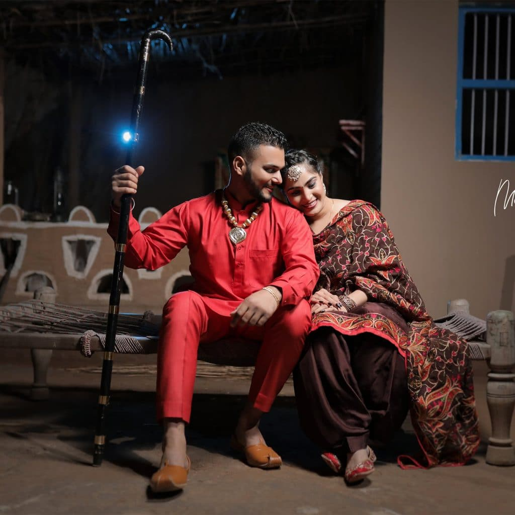Punjabi Couple Photography Bathinda