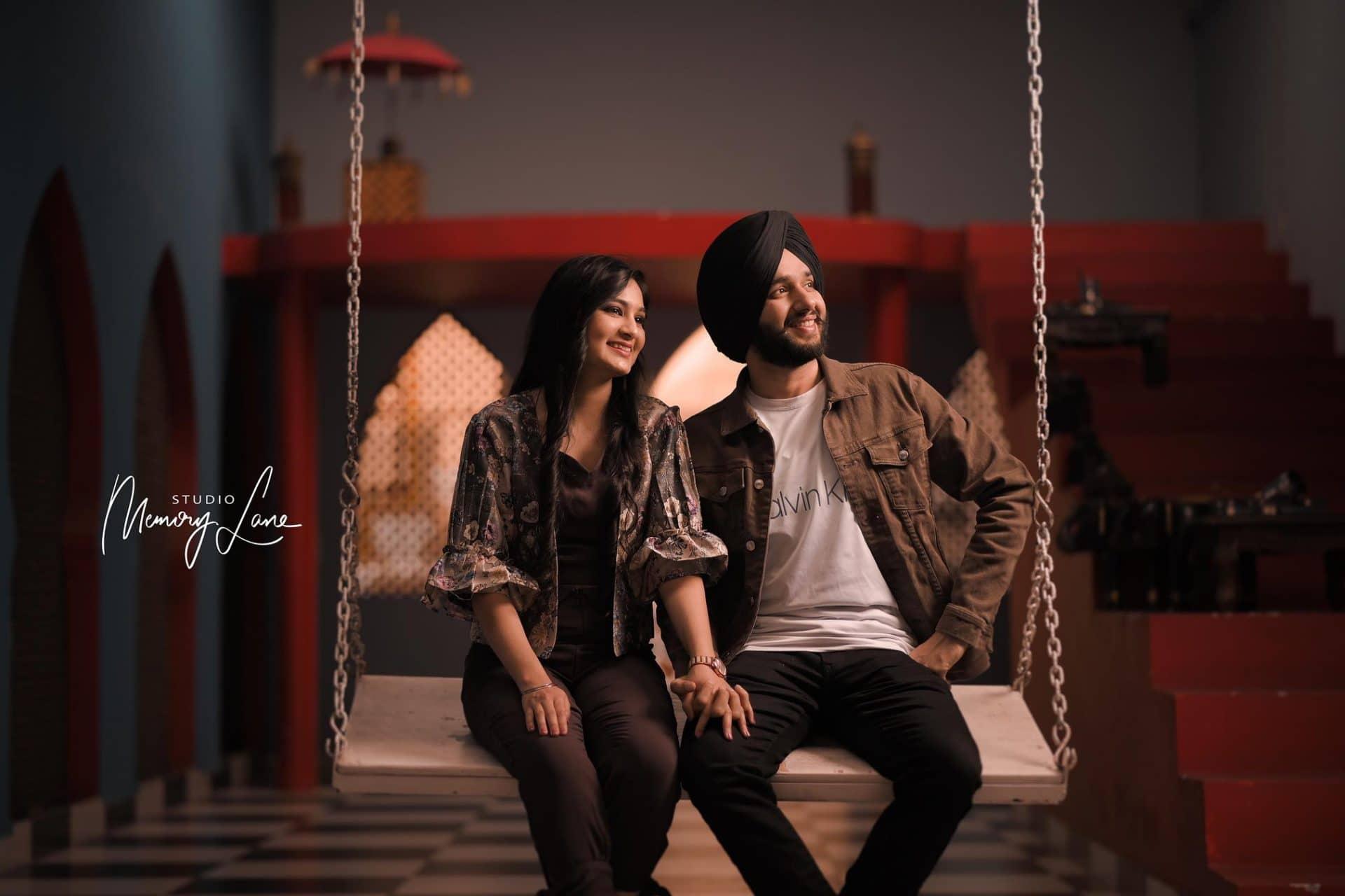 Best Wedding photography Chandigarh | Twining on the Love swing!