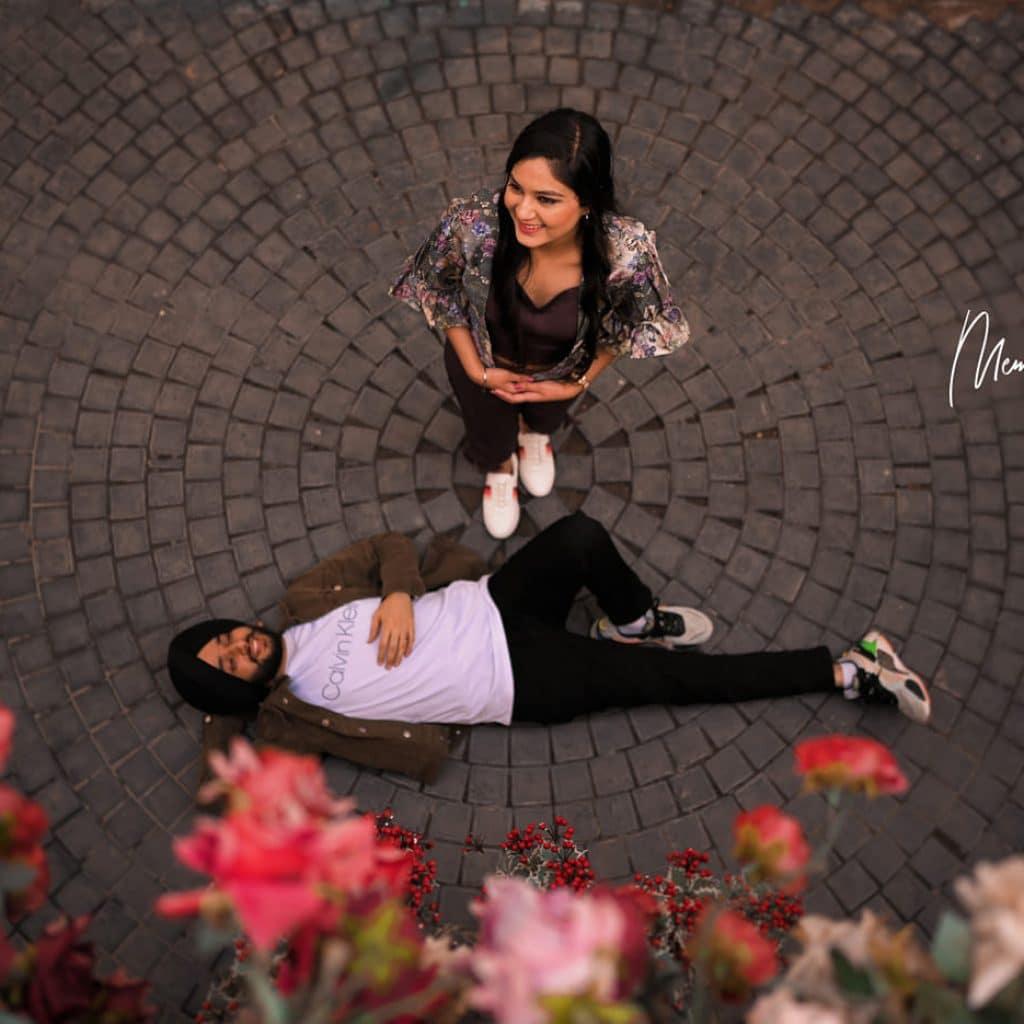 Chandigarh pre wedding photography