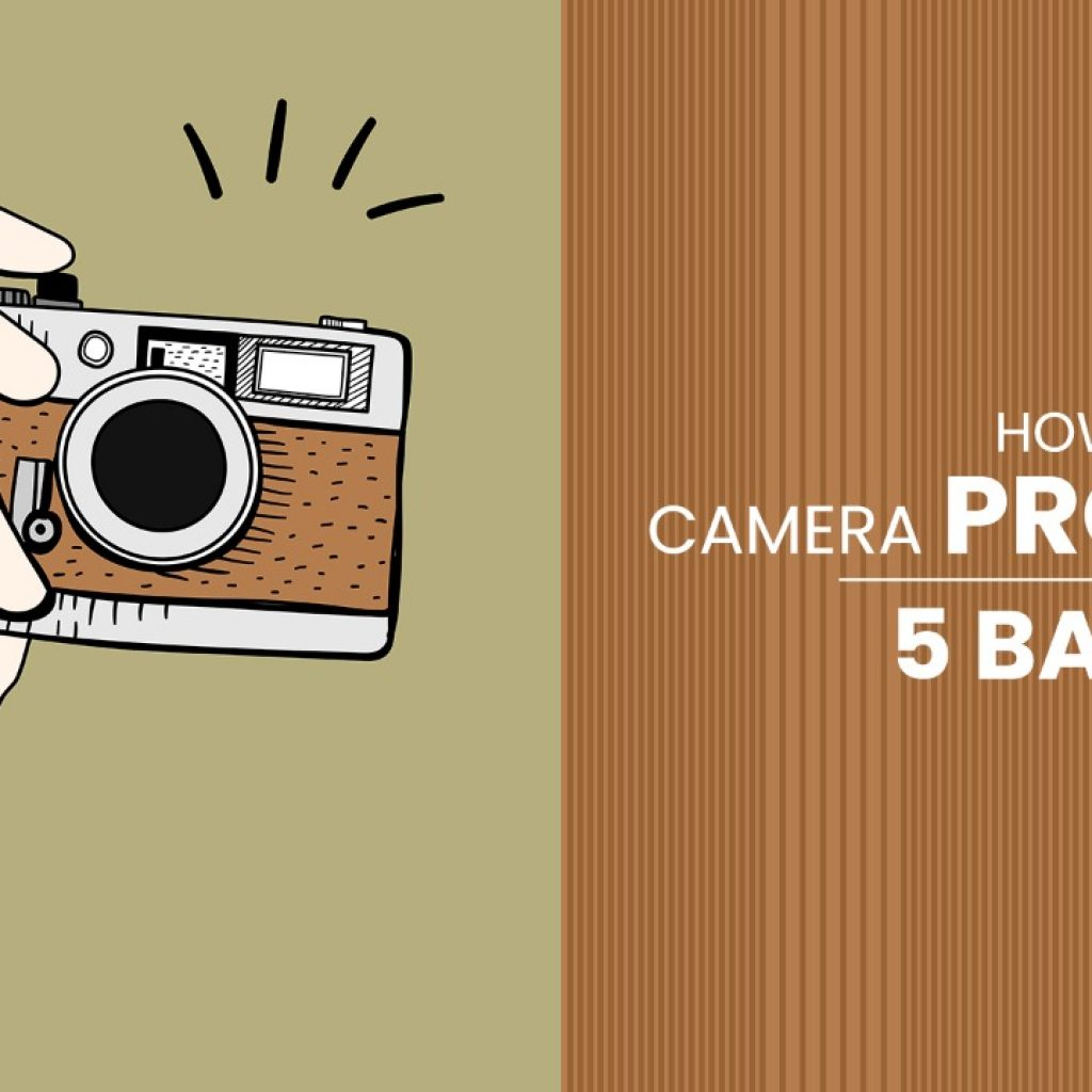How to handle a camera properly