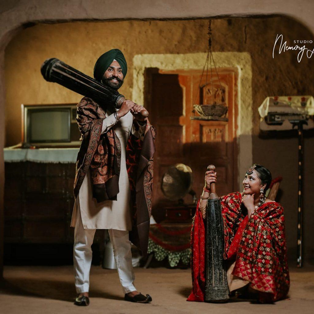 Punjab pre wedding shoot