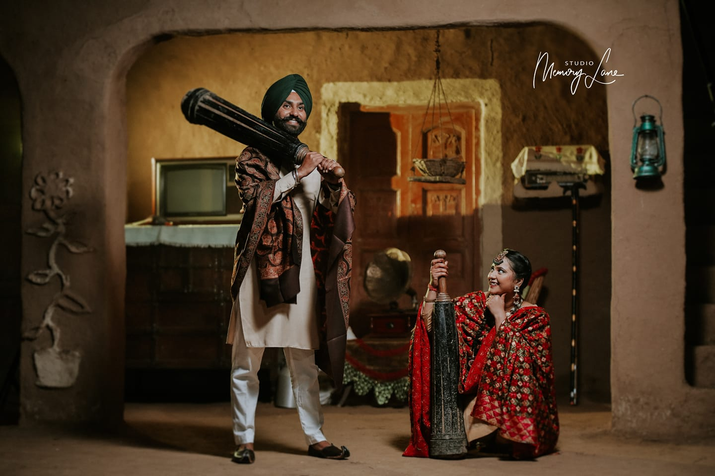 Punjab pre wedding shoot | Cultural theme!