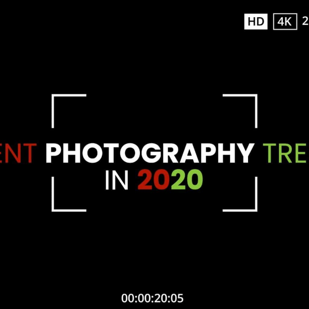 Recent photography trends