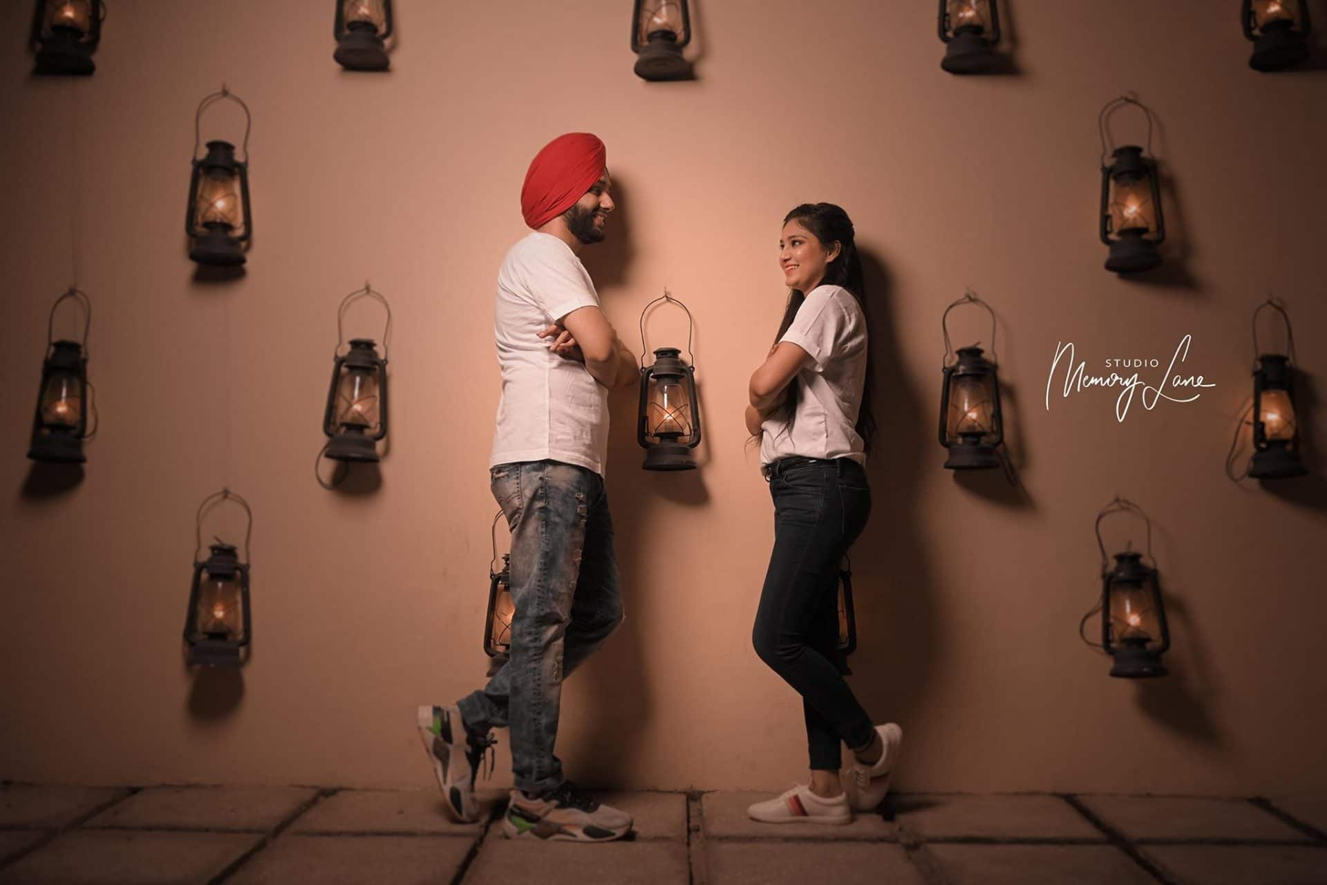 Stylish pre wedding photography Punjab