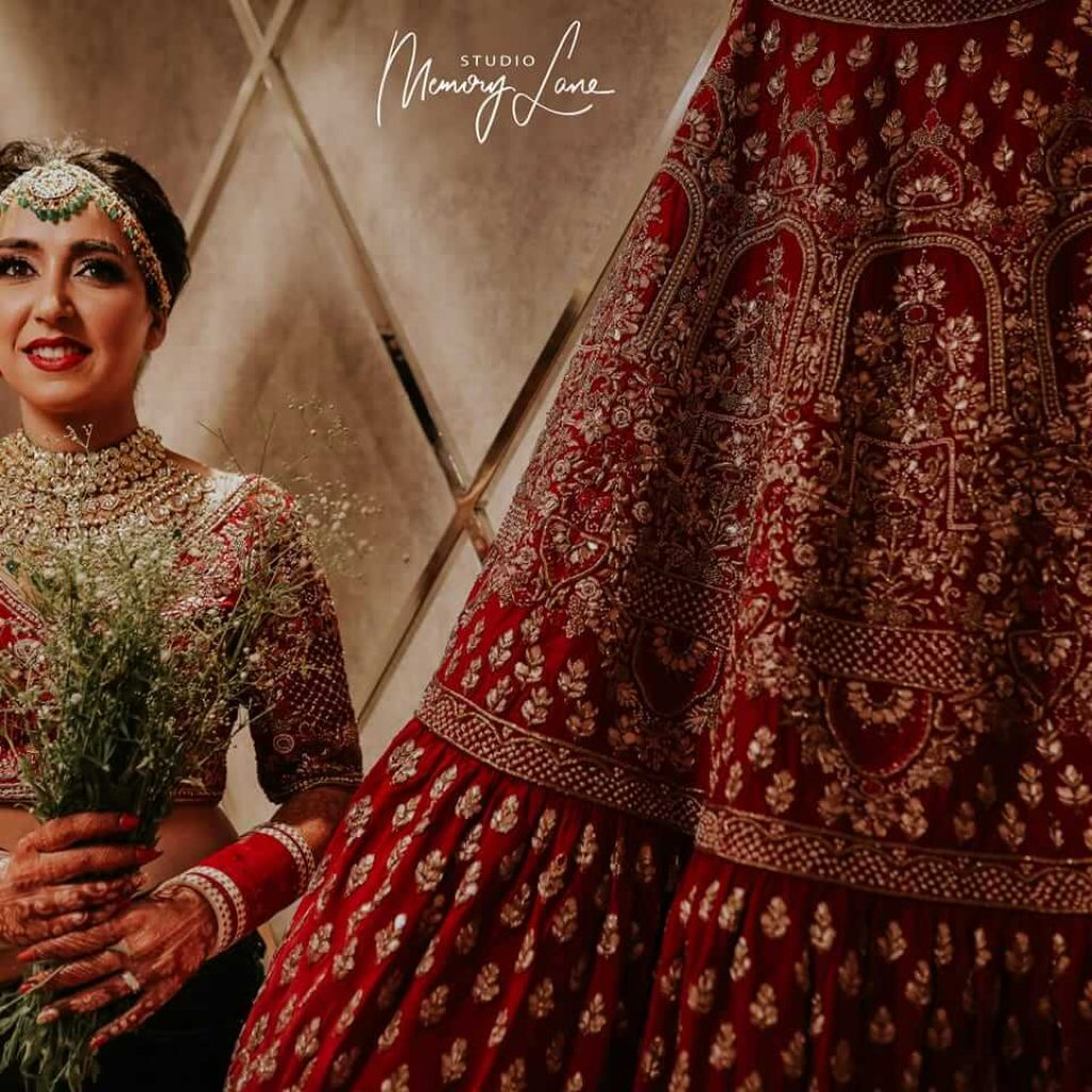 Bridal costumes photography in Chandigarh