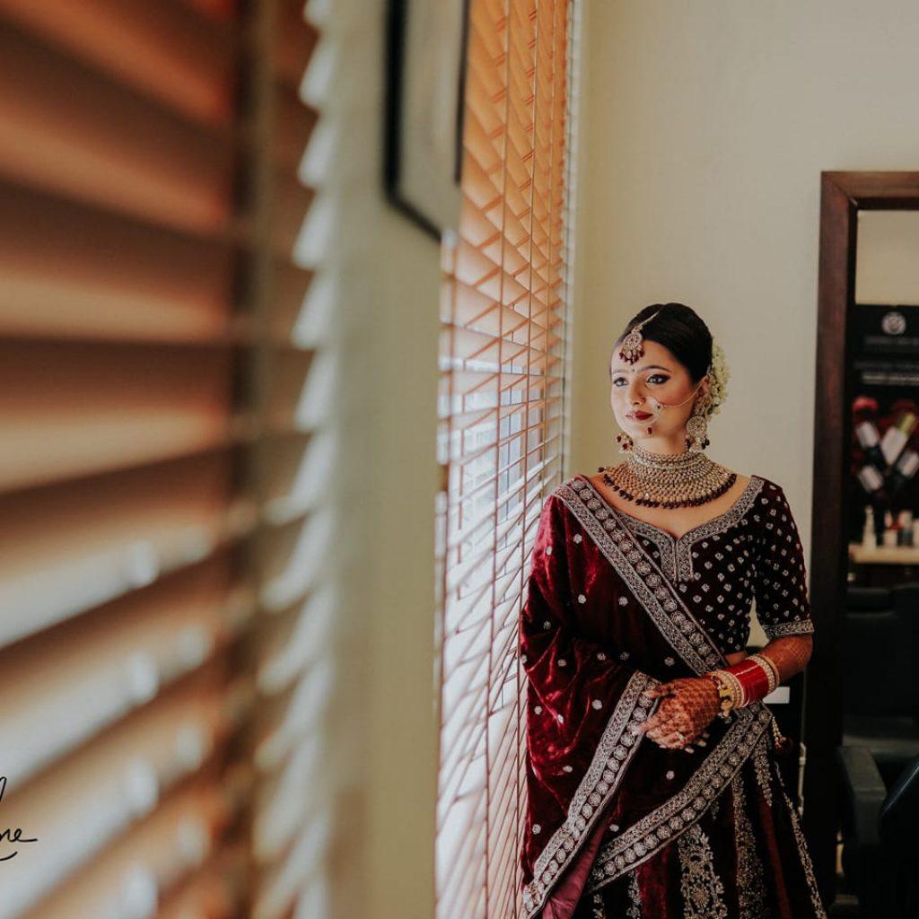 Chandigarh bridal shoot