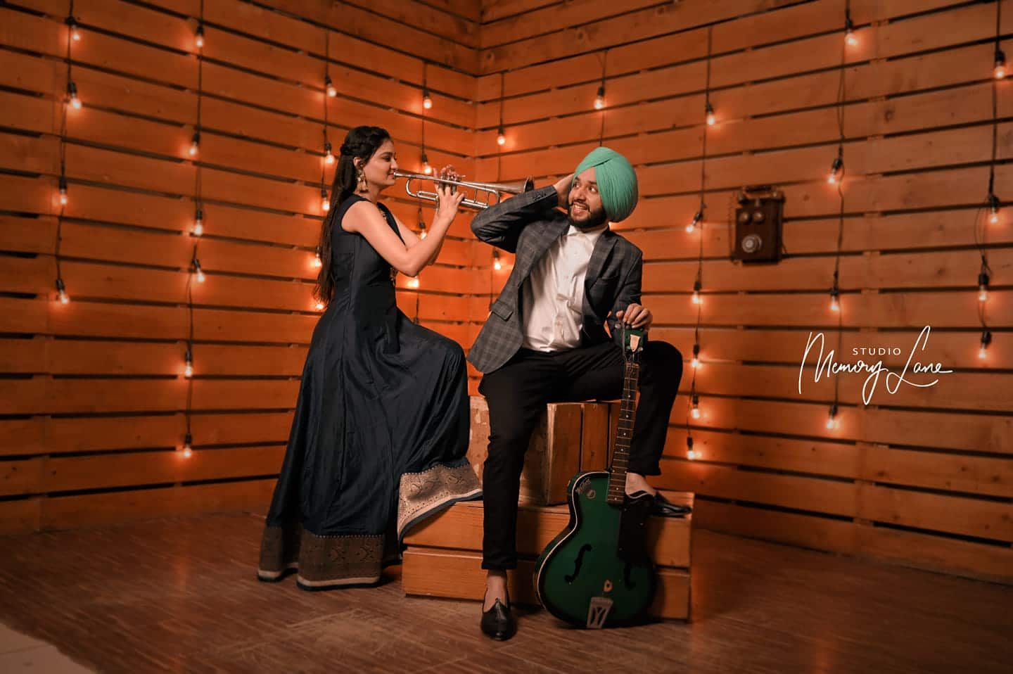 Chandigarh Photography Studio | Musical Chemistry of love!