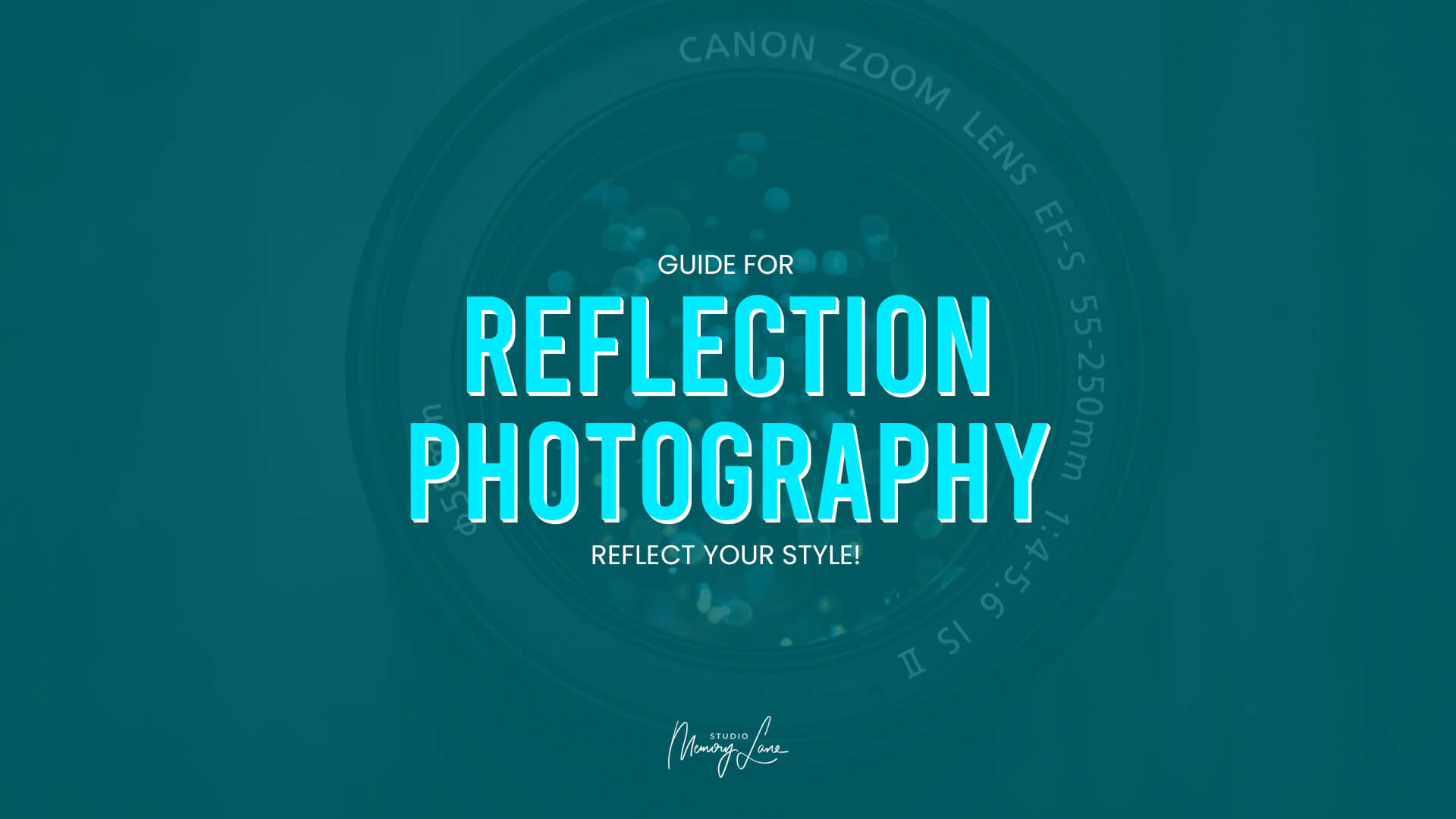 Guide for reflection photography